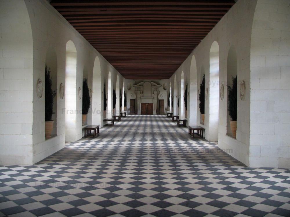 Chateau de chenonceau intérieur