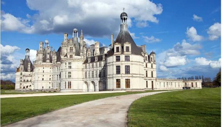 Prix visite chateau de la loire chateau u montellier - Les plus beaux jardins des chateaux de la loire ...