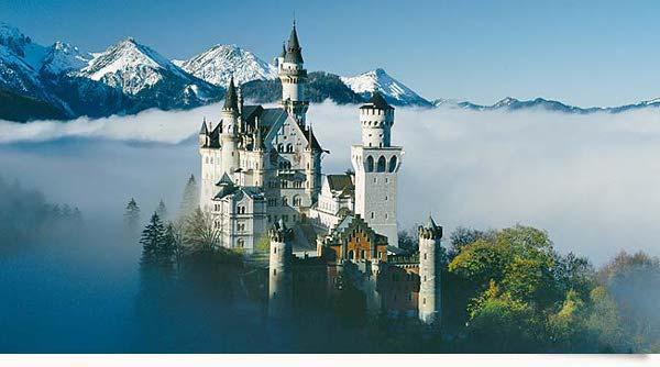 Chateau la belle au bois dormant allemagne