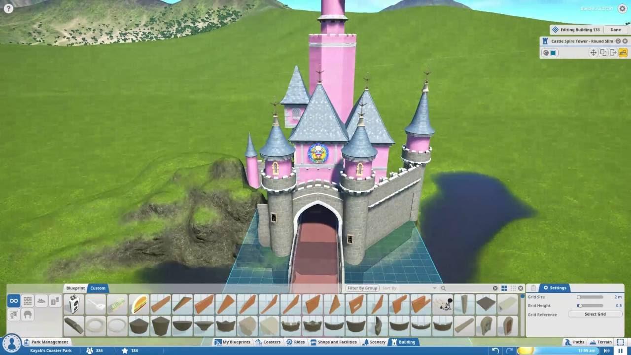 Chateau de la belle au bois dormant 37