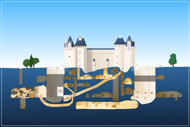 Saumur chateau visite