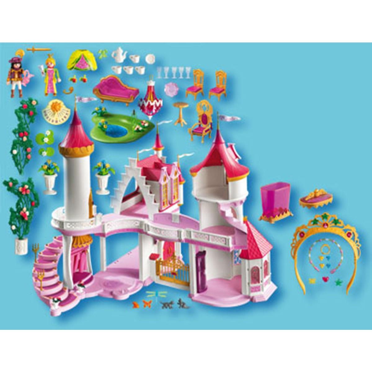 Playmobil princesse palais chateau u montellier - Playmobil princesse chateau ...