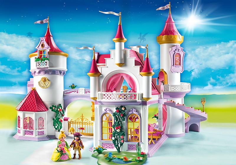 Le palais de princesse playmobil