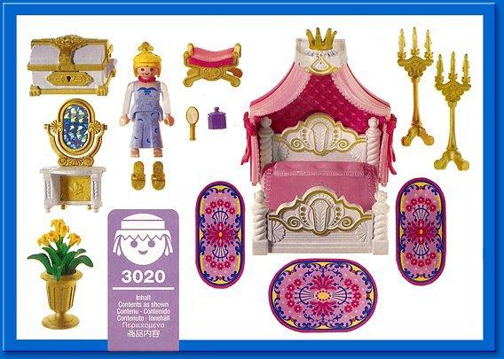 Chambre playmobil princesse