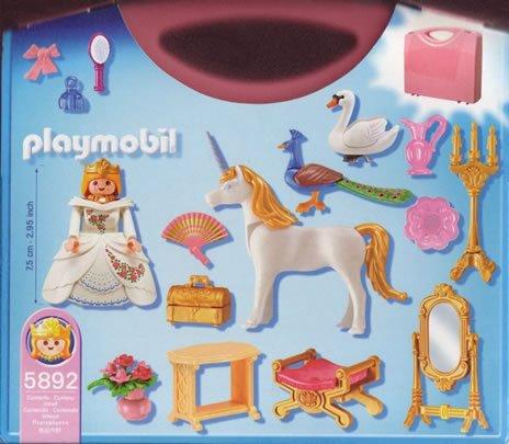 Valisette playmobil princesse