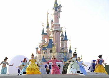 Chateau princesse disney