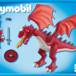 Dragon rouge playmobil