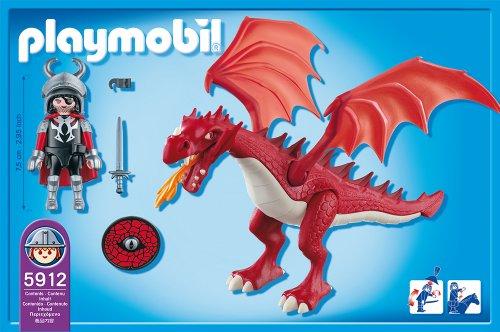 Dragon rouge playmobil