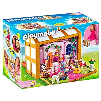 Playmobil chateau princesse transportable