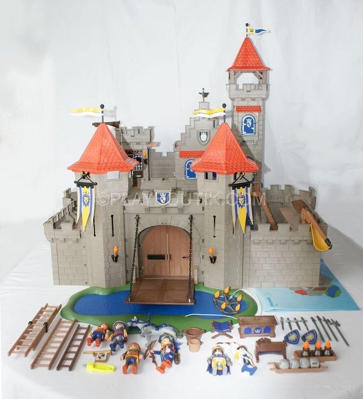 Chateau playmobil garcon