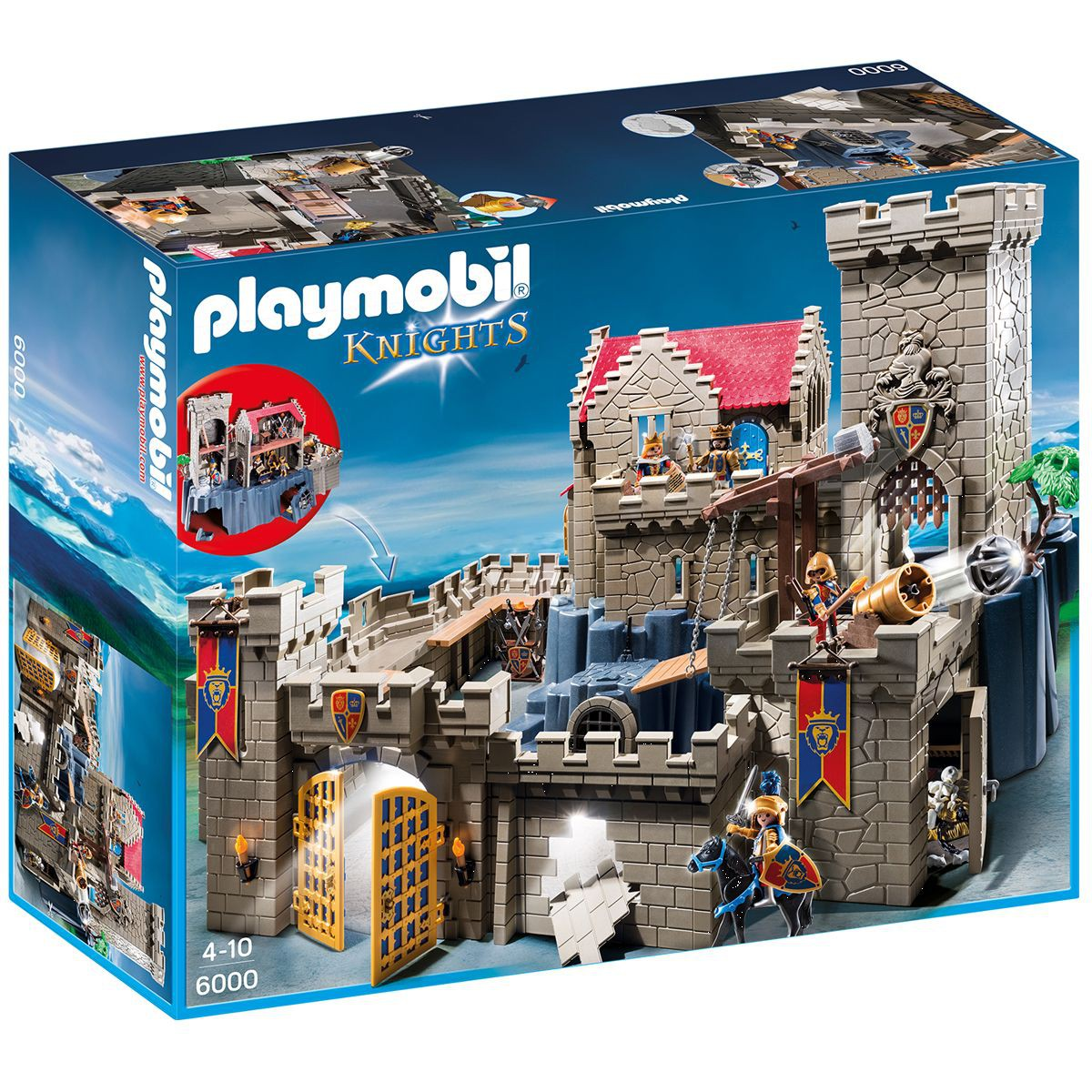 Chateau playmobil knights