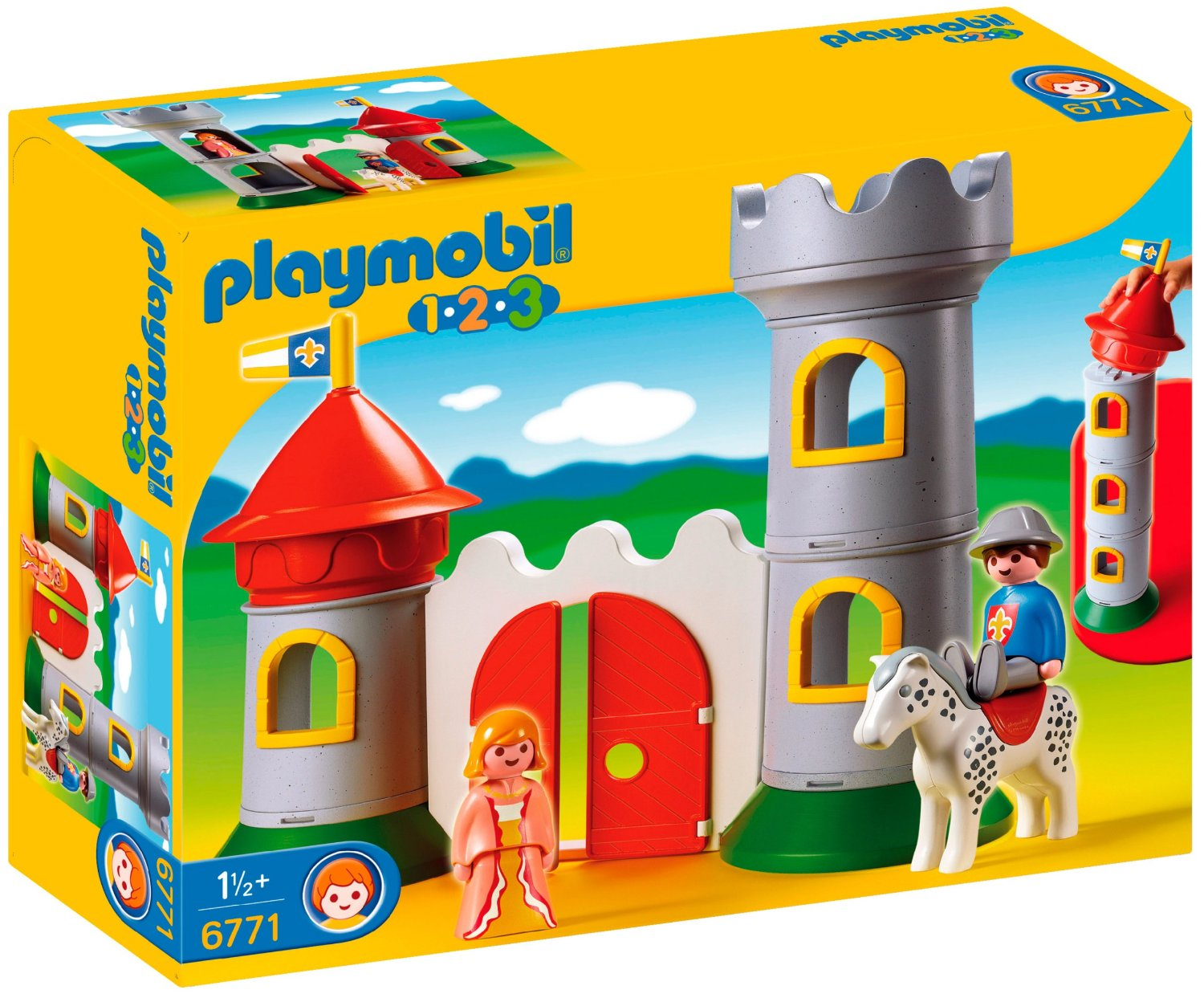 Playmobil 123 chevalier