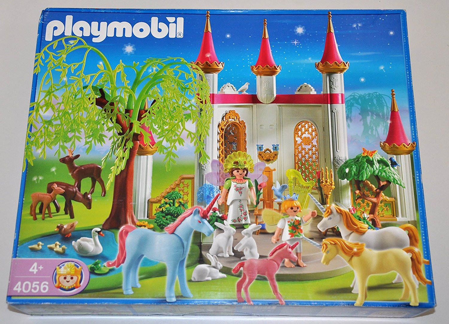 Pavillon des fees et licorne playmobil