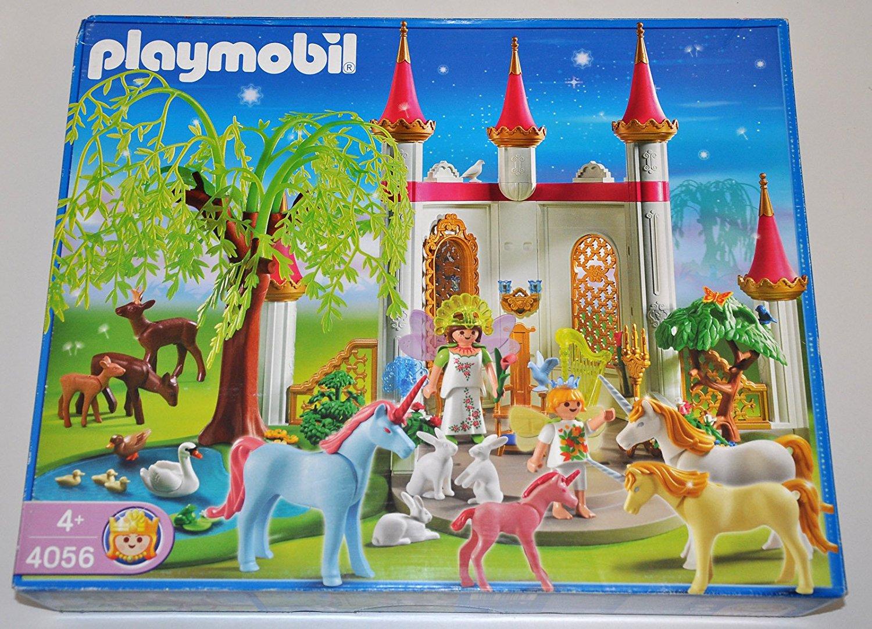 Pavillon des fees et licorne playmobil