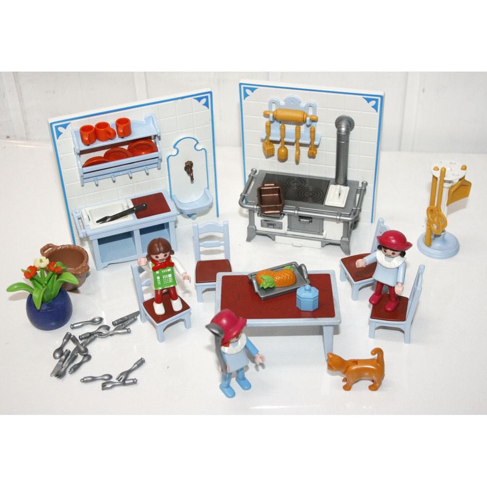 Cuisine du chateau playmobil