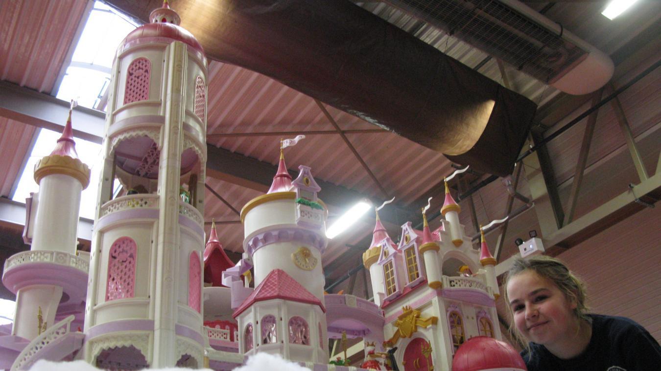 Chateau feerique playmobil