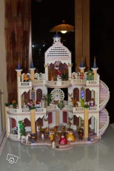 Ancien chateau playmobil princesse