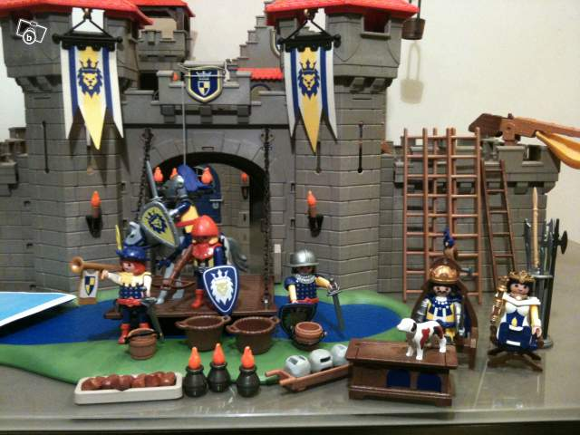 Playmobil grand château royal