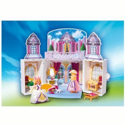 Chateau de princesse playmobil transportable