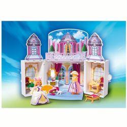 Chateau de princesse playmobil transportable