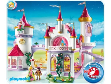 Playmobil fille chateau