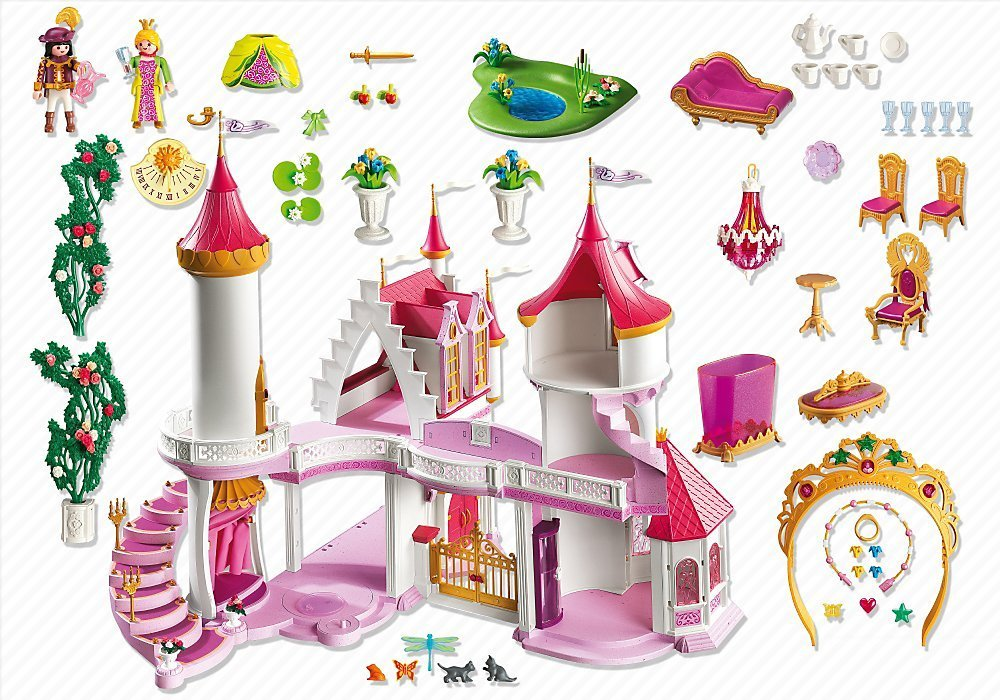 Playmobil maison transportable princesse