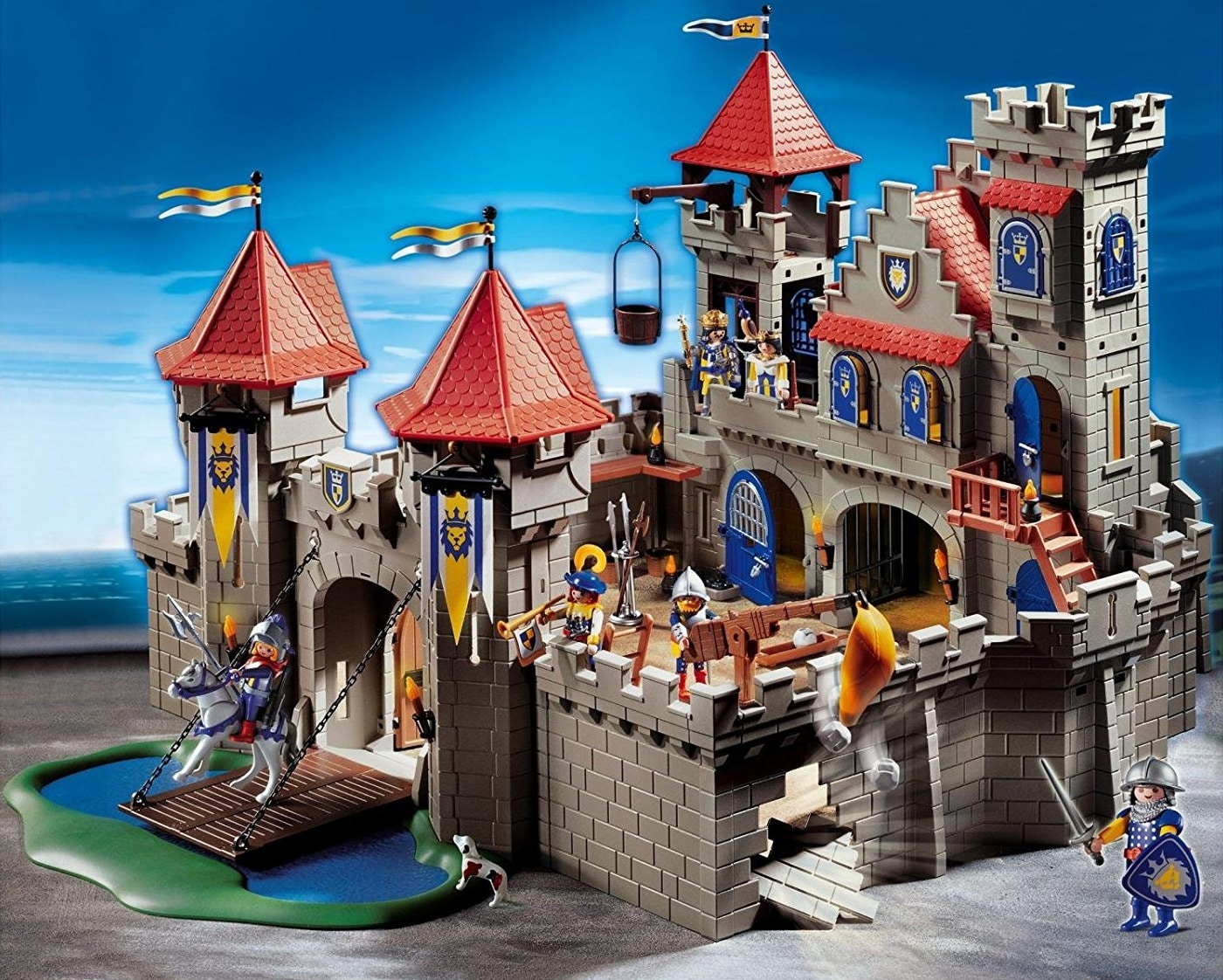 Chateau chevaliers playmobil