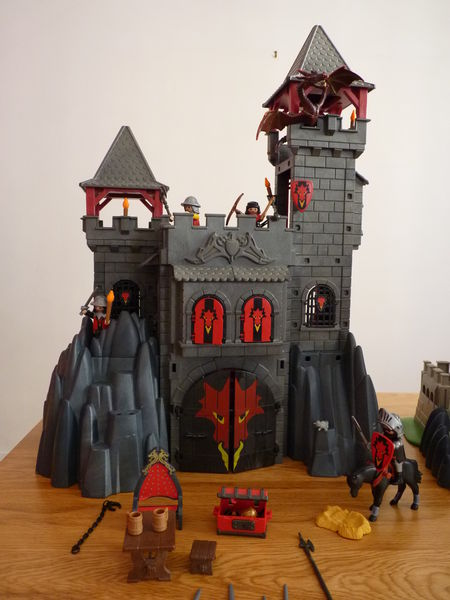 Playmobil chateau occasion