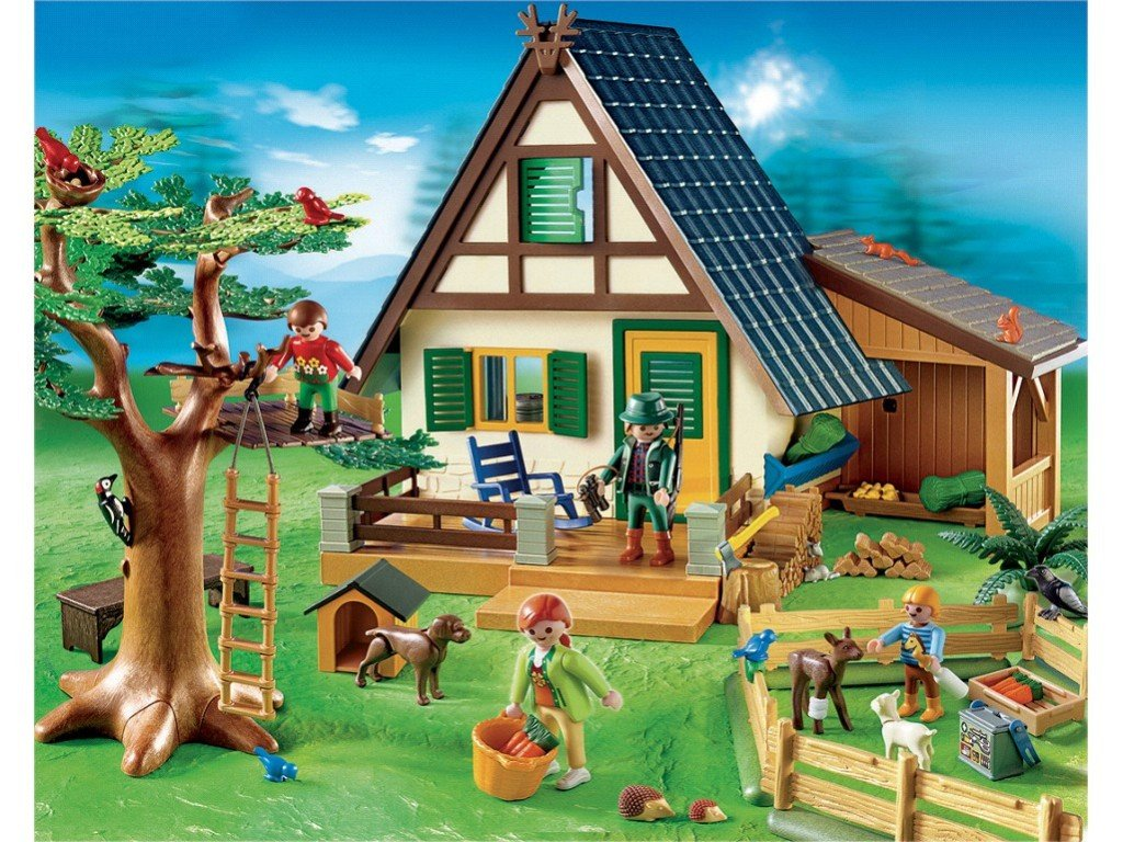 Maison playmobil ferme