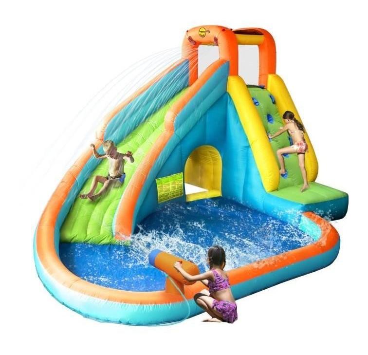 Aire de jeux gonflable piscine