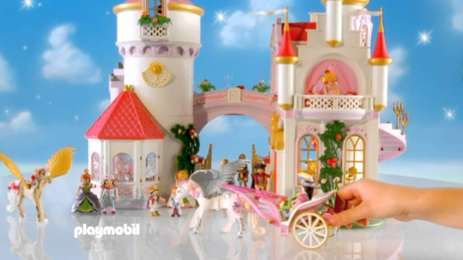 Chateau princesse playmobil carrefour