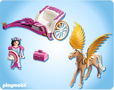 Playmobil princesse carrosse