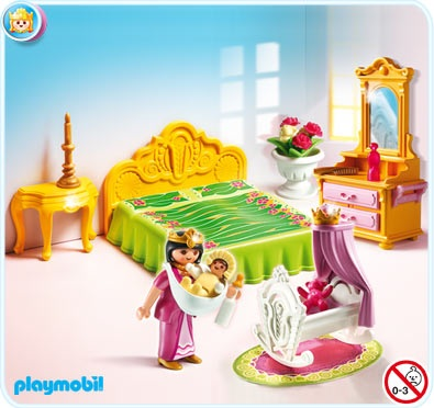Chambre chateau playmobil
