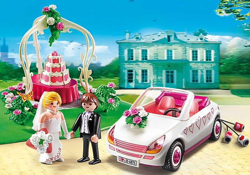 Playmobil voiture