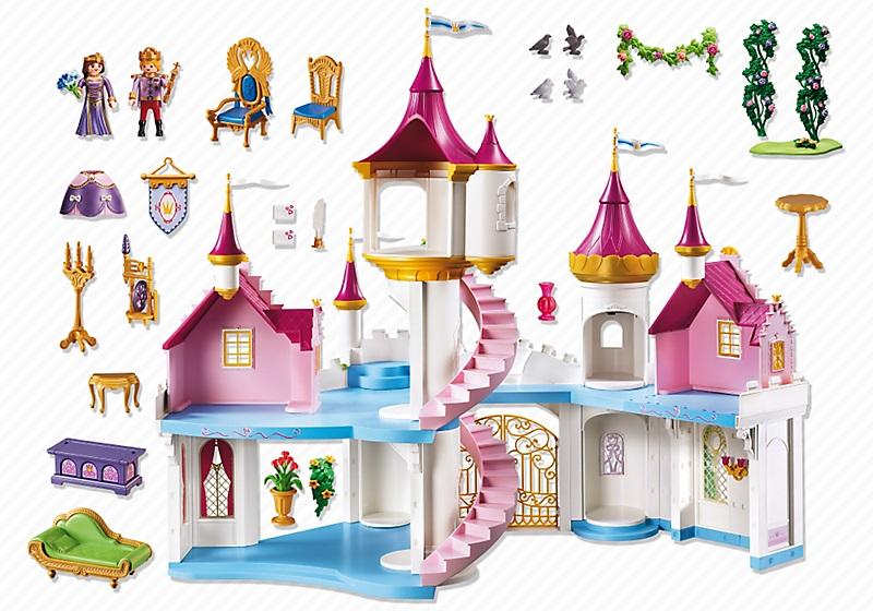Manoir princesse playmobil
