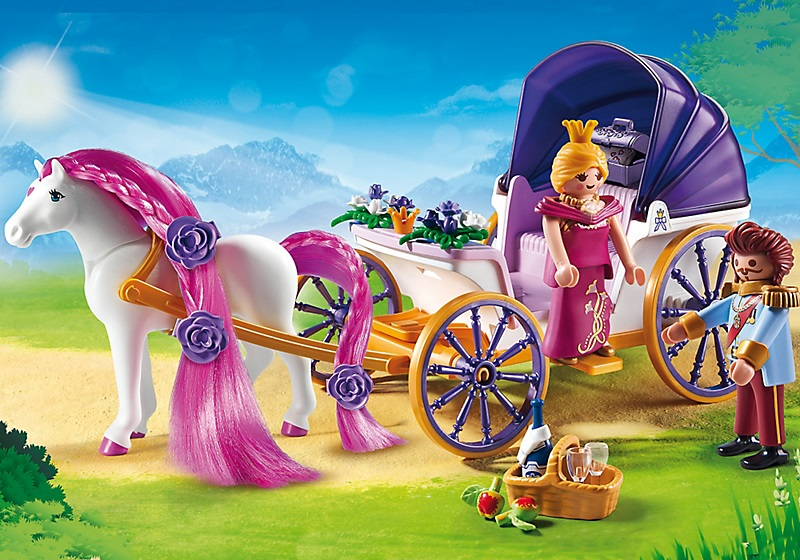 Caleche playmobil princesse