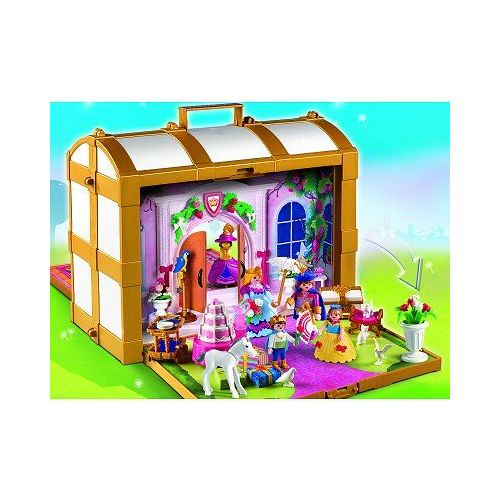 Coffre transportable princesse playmobil