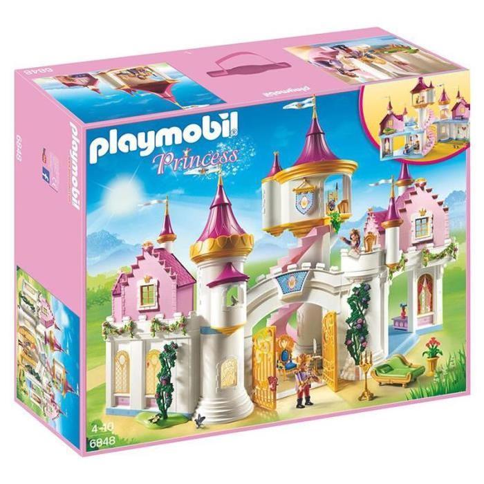 Chateau de princesse playmobil pas cher