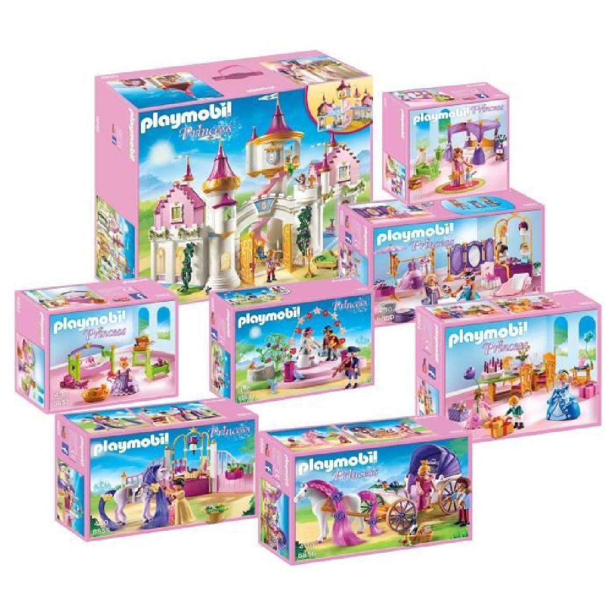 Chateau princesse playmobil complet