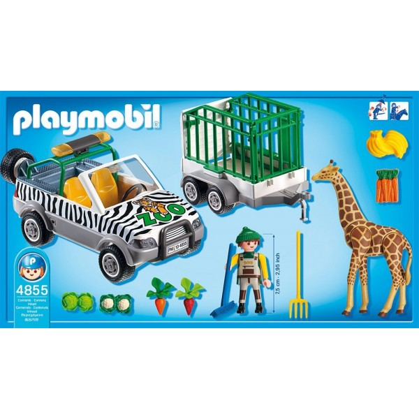 Voiture playmobil zoo